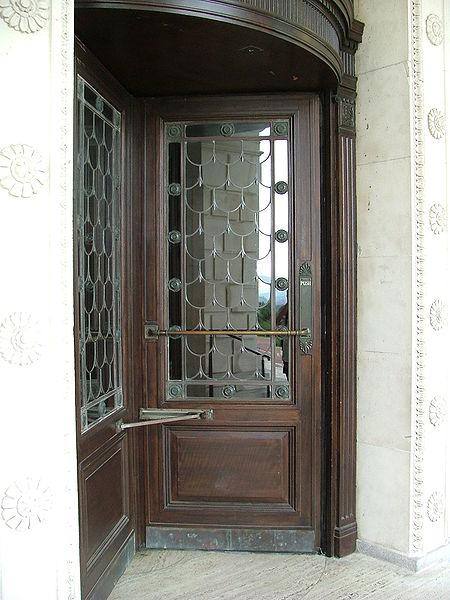 Doors into the Parliament Buildings, Stormont.