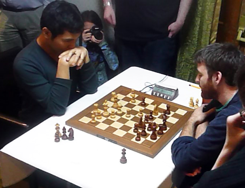 The final, and Ga's only defeat in the blitz, to GM Wesley So of the USA,  ranked number 7 in the world.