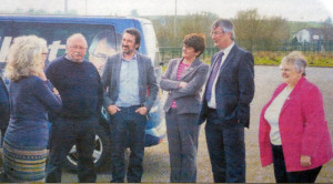 Debating with Arlene Foster last year (obviously when The Pact was operational).